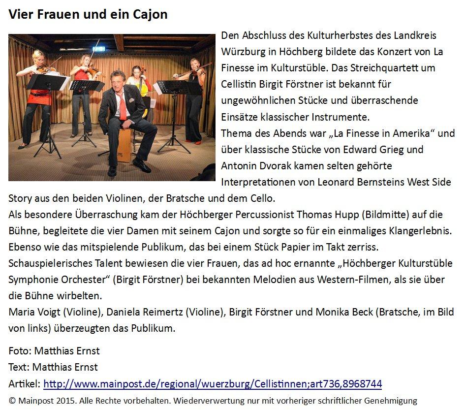 pressebericht_la_finesse_im_kulturstübl_höchberg
