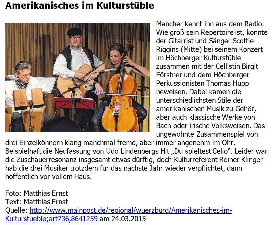 pressebericht_scotty_riggins_birgit_foerstner_thomas_hupp_im_kulturstueble_hoechberg